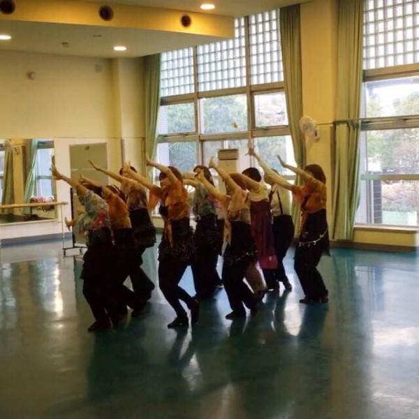 ミュージカルダンス教室 のレッスン風景1