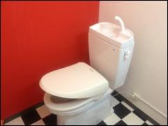 横浜 レンタルスタジオ のトイレ