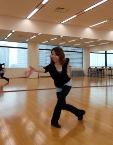 ミュージカル ダンス の講師角替さん